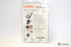 Bilancia bilancina elettronica Lyman Pocket Touch 1500 imballo