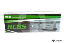 Bilancina meccanica RCBS M500 Mechanical Scale #98915 lato