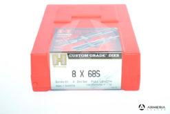 Dies Hornady calibro 8x68S - 2 Die Set - full length- series 4 - #546378 -0