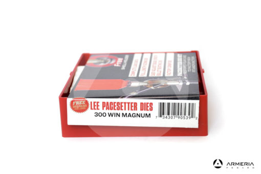 Dies Lee Pacesetter calibro 300 Win Magnum- Shell Holder omaggio