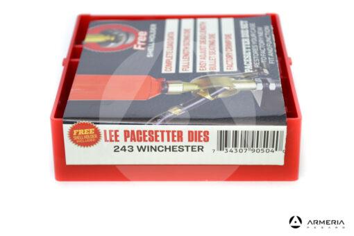 Dies Lee Reloading calibro 243 – Shell Holder omaggio