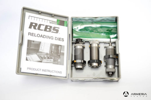 Dies RCBS 3-Die CARB TC Set calibro .9mm Luger _ 9x21 _ 9x23 - Gruppo B - #20515-1