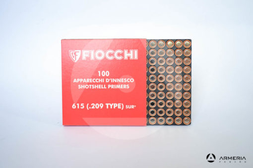 Inneschi Fiocchi DFS 615 SUR (.209 type) industriale ÔÇô 100 pezzi -1