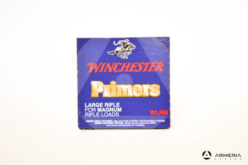 Inneschi Winchester Primers Large Rifle WLRM for magnum rifle loads -0