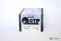 Palle Nosler E-Tip Expansion calibro 7mm - 140 grani - 50 pezzi #59955 modello