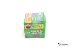 Palle Sierra MatchKing calibro 22 52 grani HPBT #1410 - 100 pz