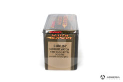 "Palle ogive Barnes Match calibro 6.5 mm .264"" – 140 grani GR BT Match - 100 pezzi #30230 mod"