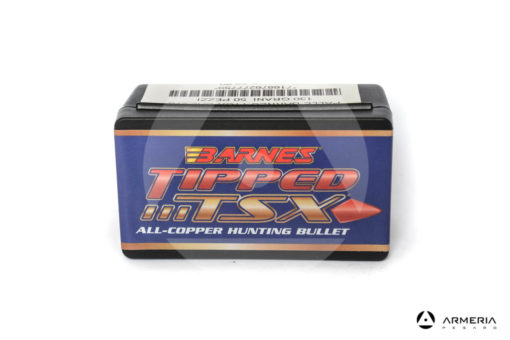 Palle ogive Barnes Tipped TSX calibro 270 .277″ – 130 grani TTSX BT – 50 pezzi #30276