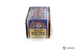 Palle ogive Barnes Tipped TSX calibro 270 .277″ – 130 grani TTSX BT – 50 pezzi #30276 mod