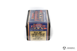 Palle ogive Barnes Tipped TSX calibro 30 mm .308″ – 130 grani TTSX BT – 50 pezzi #30364 mod