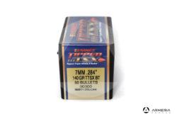 "Palle ogive Barnes Tipped TSX calibro 7 mm .284"" – 140 grani TTSX BT - 50 pezzi #30300 mod"