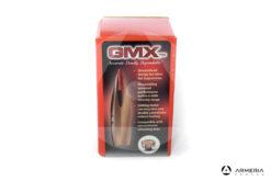 Palle ogive Hornady GMX cal. 25 .257″ – 90 grani gmx – 50 pezzi #25410