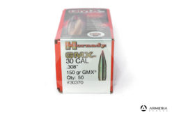 Palle ogive Hornady GMX cal. 30 .308″ – 150 grani gmx – 50 pezzi #30370 mod