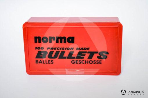 Palle ogive Norma Precision calibro 270 Win .277 - 130 grani FMJ - 100 pezzi