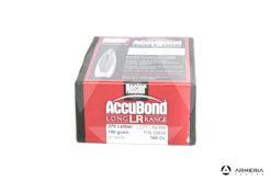 Palle ogive Nosler Accubond LR Long Range calibro 270 - 150 grani - 100 pezzi #58836 modello