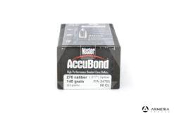 Palle ogive Nosler Accubond calibro 270 - 140 grani 50 pezzi #54765