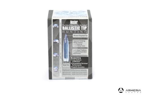 Palle ogive Nosler Ballistic Tip Hunting calibro 6.5 mm - 120 grani - 50 pezzi #26120