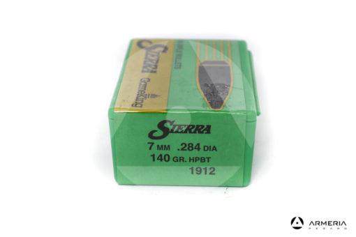 Palle ogive Sierra GameKing calibro 7 mm .284 dia – 140 gr grani HPBT – 100 pezzi #1912 mod