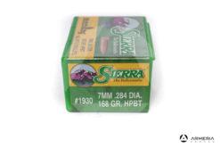 Palle ogive Sierra MatchKing calibro 7 mm .284 dia – 168 gr grani HPBT – 100 pezzi #1930 mod