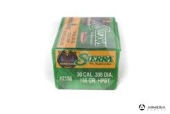 Palle ogive Sierra Palma MatchKing calibro 30 .308 dia – 155 gr grani HPBT – 100 pezzi #2156 mod
