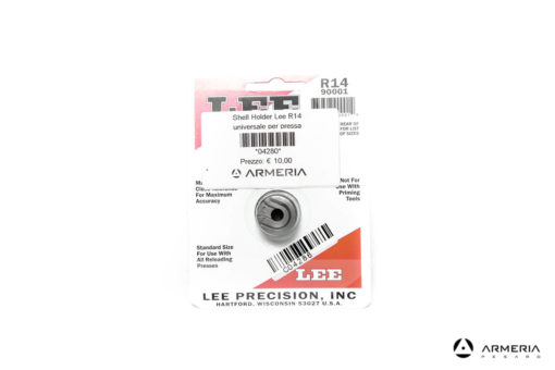 Shell Holder Lee R14 universale per pressa #90001