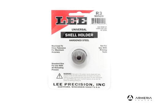 Shell Holder Lee R3 universale per pressa