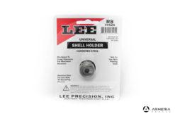 Shell Holder Lee R8 _ universale per pressa