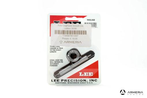 Asta tornitura bossoli Lee Precision calibro 30-06 e Shell Holder #90140