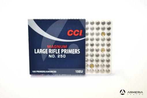 Inneschi CCI Magnum Large Rifle Primers n. 250 - 100 pz 15EU