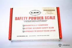 Bilancina meccanica Lee Precision safety powder scale contenuto imballo