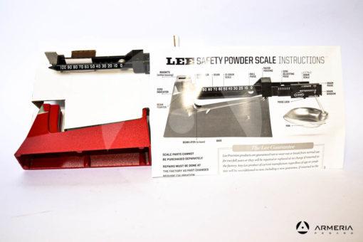 Bilancina meccanica Lee Precision safety powder scale contenuto