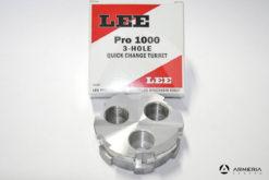 Torretta Lee Pro 1000 per pressa a 3 fori Quick Change Turret