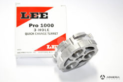 Torretta Lee Pro 1000 per pressa a 3 fori Quick Change Turret base