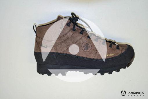 Scarpe Crispi Monaco Tinn GTX dark brown taglia 43