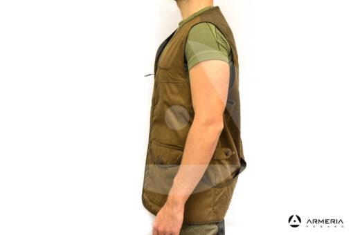 Gilet Browning Field Vest taglia M caccia lato