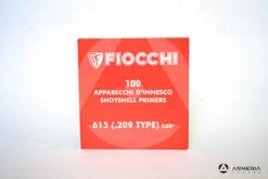 Inneschi Fiocchi DFS 615 SUR (.209 type) industriale – 100 pezzi -0