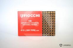 Inneschi Fiocchi DFS 615 SUR (.209 type) industriale – 100 pezzi -1