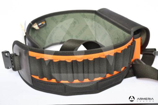 Cartuccera alta visibilità Riserva equipaggiamento caccia 24 celle multi calibro con sacca modello