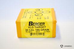 Palle ogive Berger VLD Target calibro 30 - 185 grani - 100 pezzi_1 -1