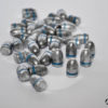 Palle ogive Romana Metalli calibro 9 - 125 grani RN - 1000 pezzi
