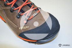 Scarponi Crispi Valdres S.E. GTX dark brown taglia 43 punta