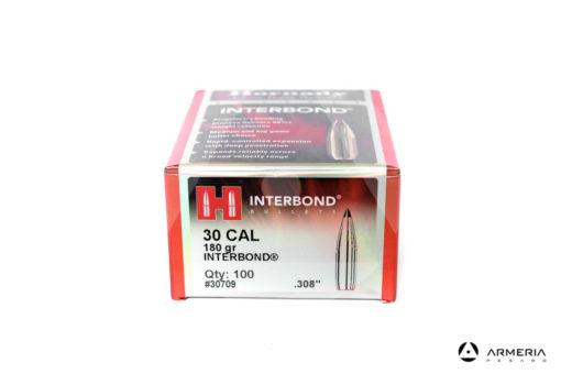 Palle ogive Hornady Interbond cal. 30 – 180 gr grani .308″ – 100 pezzi #30709 mod