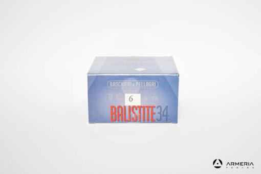 B&P Baschieri e Pellagri Balistite 34 calibro 12 - Piombo 6 - 25 cartucce modello