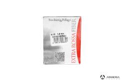 B&P Baschieri e Pellagri Extra Rossa Fiber calibro 28 Piombo 10 - 25 cartucce lato