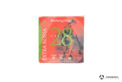 B&P Baschieri e Pellagri Extra Rossa HV calibro 28 Piombo 7.5 - 25 cartucce