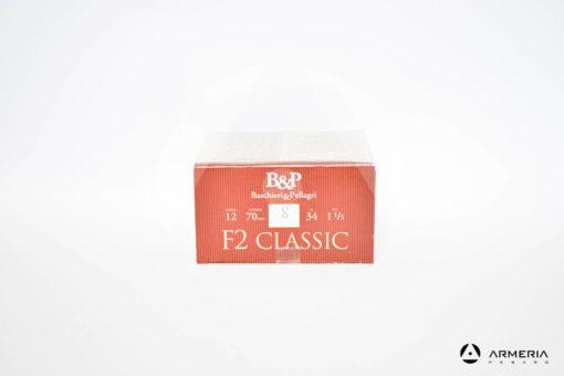 B&P Baschieri e Pellagri F2 Classic calibro 12 - Piombo 8 - 25 cartucce modello