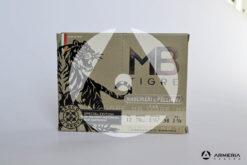 B&P Baschieri e Pellagri MB Tigre Special Edition calibro 12 - Piombo 6 - 10 cartucce fronte