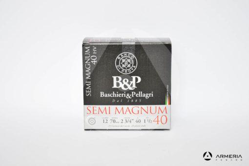 B&P Baschieri e Pellagri Semimagnum 40 HV calibro 12 - Piombo 3 - 25 cartucce