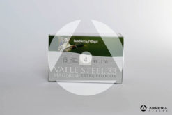 B&P Baschieri e Pellagri Velle Steel 33 Magnum Extra Velocity calibro 12 - Piombo 4 - 25 cartucce modello