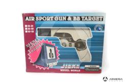 Bersaglio Air Sport Gun e BB Target Jieke con rete per raccolta pallini